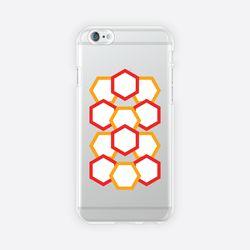 [아이폰 6 6s 7 8 젤리케이스] ABSTRACT PATTERN PHONE CASE - D