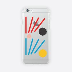 [아이폰 6 6s 7 8 젤리케이스] ABSTRACT PATTERN PHONE CASE - G
