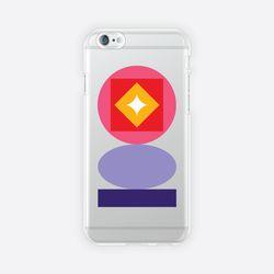 [아이폰 6 6s 7 8 젤리케이스] ABSTRACT PATTERN PHONE CASE - H