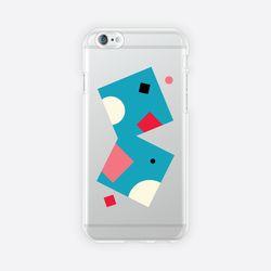[아이폰 6 6s 7 8 젤리케이스] ABSTRACT PATTERN PHONE CASE - I