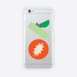[아이폰 6 6s 7 8 젤리케이스] ABSTRACT PATTERN PHONE CASE - J
