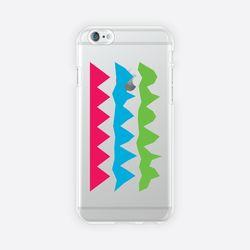 [아이폰 6 6s 7 8 젤리케이스] ABSTRACT PATTERN PHONE CASE - K