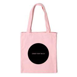 동그라미 에코백 CIRCLE ECO BAG - pink