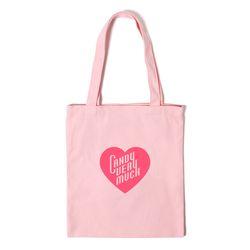 하트 에코백 HEART ECO BAG - pink