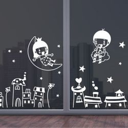 ij492-밤하늘여행(대형)그래픽스티커