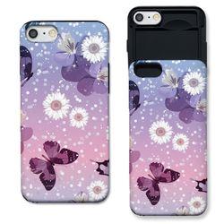 [아이폰7+] 꽃과 나비 S3122A 슬라이더 케이스