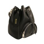 BUCKET M BLACK- SHOULDER  BAG