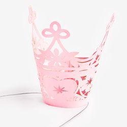 공주니까 베이비 핑크 블라썸 왕관