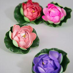 연꽃 모형(9cm)