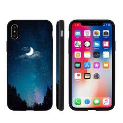 [Trycozy]밤하늘달 도어범퍼 케이스.아이폰6(s)플러스