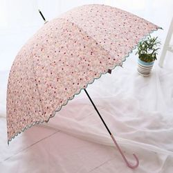 [무료배송] 플라워 장우산 2타입 3color