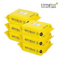 정전기 청소포 (대형) 60매 x 6팩