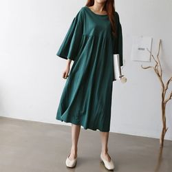 Joy Shirring Dress