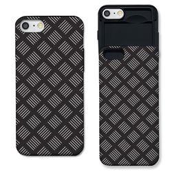 [아이폰7+] 라인 패턴 블랙 S3120C 슬라이더