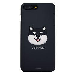 시로앤마로 입체 슬림핏 마로블랙 아이폰6+ 6S+