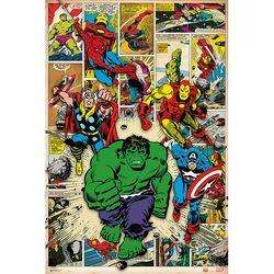 160748 마블 - Here Come the Heroes(91x 61)포스터만