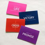 Cross Keyword 카드세트 (4장+스티커)