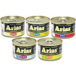 (24개1박스)아리아스 저칼로리 캔 100g