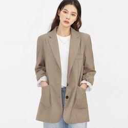 sunday three button jacket