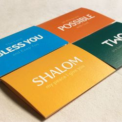 Blessing Keyword 카드세트 (4장+스티커)