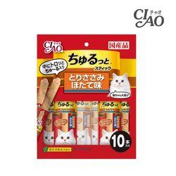 챠오 츄르또스틱 닭고기 조갯살 11g 10개 (CS-162)