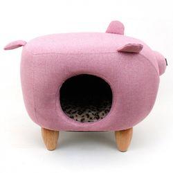 펫모닝 핑크 돼지 하우스