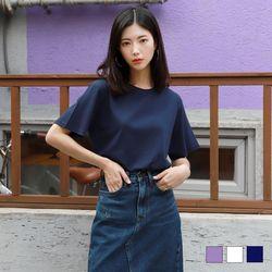 2252 베스트 반팔 티셔츠 (3colors)