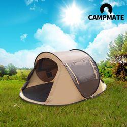 [S급리퍼] 캠프메이트 원터치 텐트 3-4인용(CN7601)