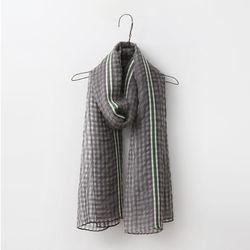 Silk Wool Line Scarf