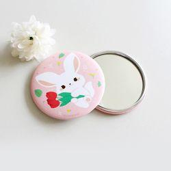 러버블오잉 핑크 손거울