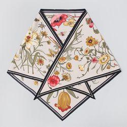 Flower Triangle Scarf