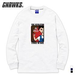 18FW 롱슬리브 티셔츠 GNL109