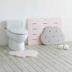 EVA 폭신구름 주방 욕실매트 (1개+1개)