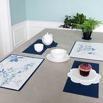 Green PVC 디자인 코팅 테이블매트 식탁매트 블루버드