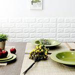 Green PVC 사각 테이블매트 식탁매트 베이지