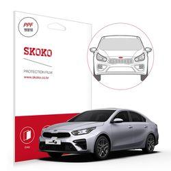 기아 2018 올 뉴 k3 엠블럼 자동차 PPF 보호필름