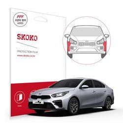 2018 올뉴 k3 프론트 범퍼 사이드 자동차 PPF 필름