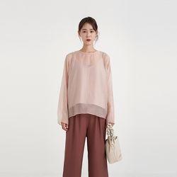 low set blouse (2colors)