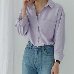 옥스포드 베이직 셔츠 (4-COLORS)