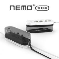 네모탭 PLUS 박스 USB 3구 3m 멀티탭
