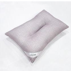 트랜디 컬러베개솜(연그레이)-경추형-40x60