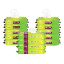 물걸레 청소포 10팩+정전기 청소포 4팩