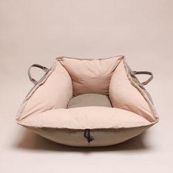 In&Out cushion  beige&khaki