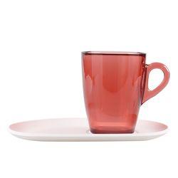 판제냐 커피잔(대)와인레드