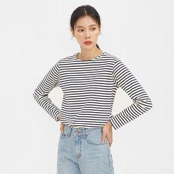 clean stripe pattern T