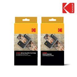 코닥 정품 포토 프린터 도크 전용 카트리지 40매