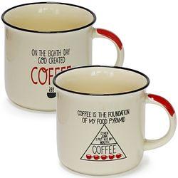 커피라이프머그 2p set