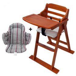 [베이비캠프]체리 유아용 식탁의자와 쿠션세트