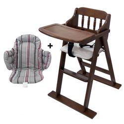 [베이비캠프]엔틱 유아용 식탁의자와 쿠션세트
