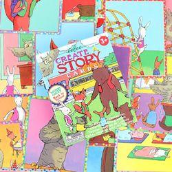 스토리텔링 카드게임 이부 크리에이트어스토리 학교이야기